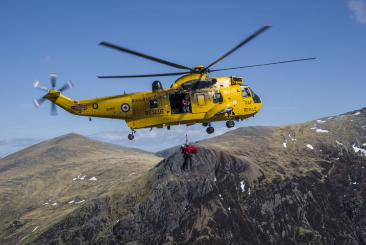 England mountains rescue helicopter military wallpaper