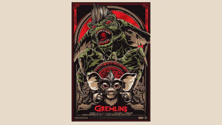 Gremlins poster posters wallpaper