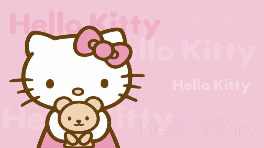 Hello Kitty Pink g wallpaper