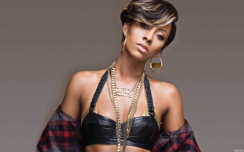 Keri Hilson pop r-b singer brunette f wallpaper