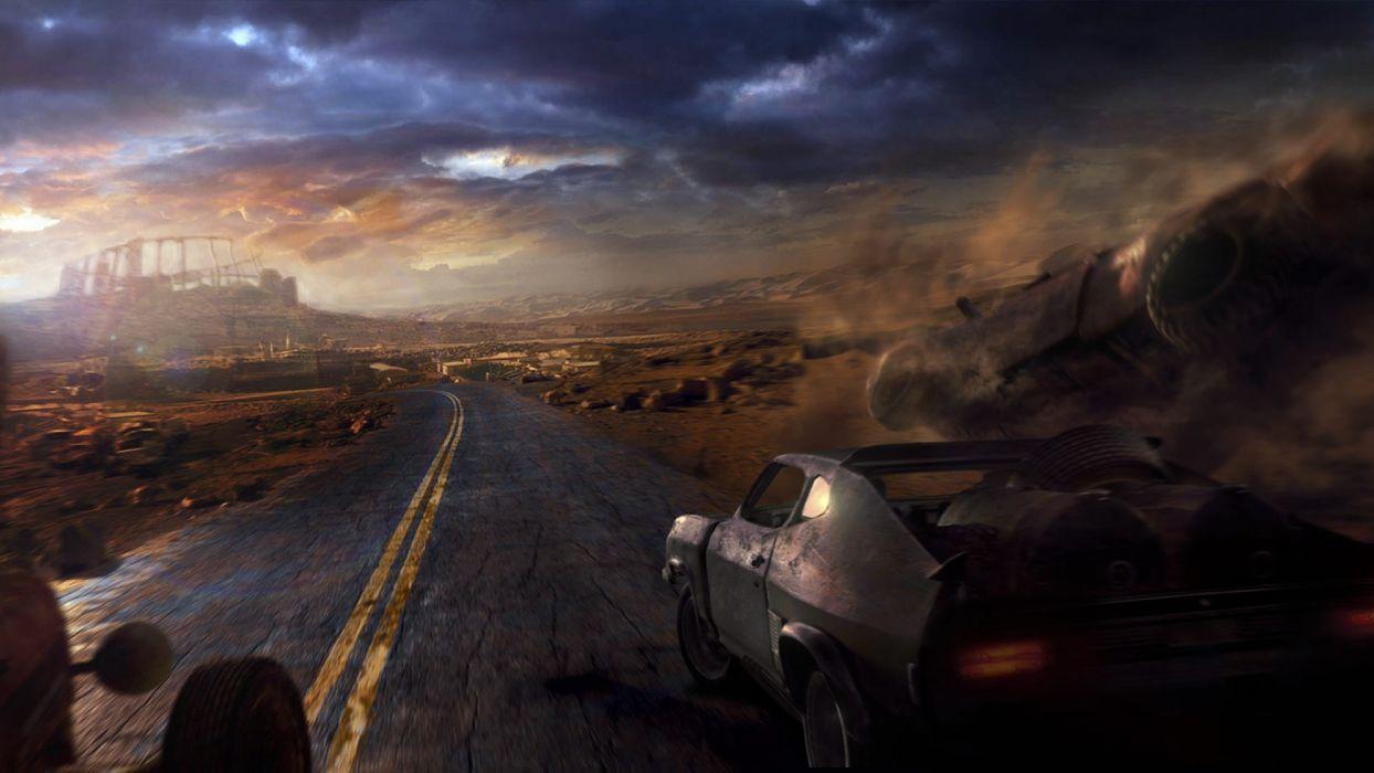 Mad Max Road wallpaper
