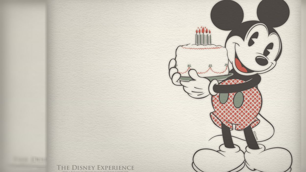 Mickey Mouse disney birthday wallpaper