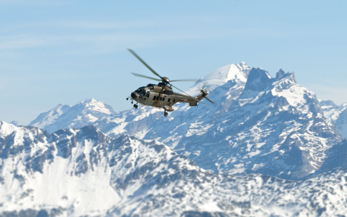 mountains sky helicopter military wallpaper