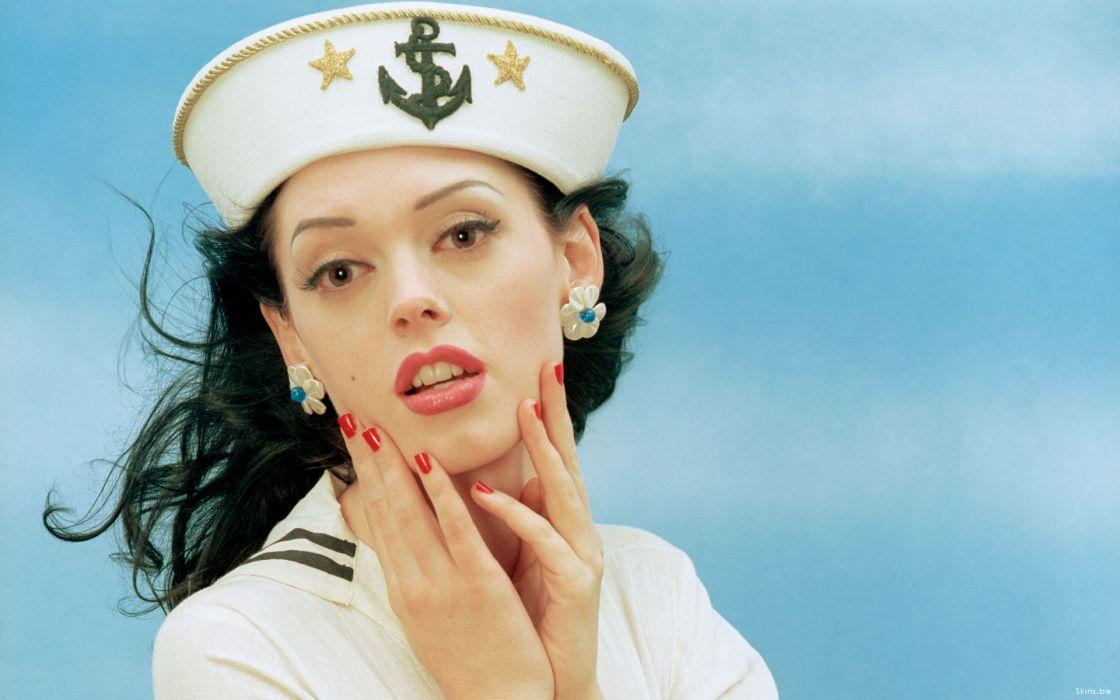 Rose McGowan actress brunette   g wallpaper