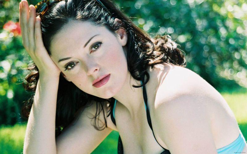 Rose McGowan actress brunette j wallpaper