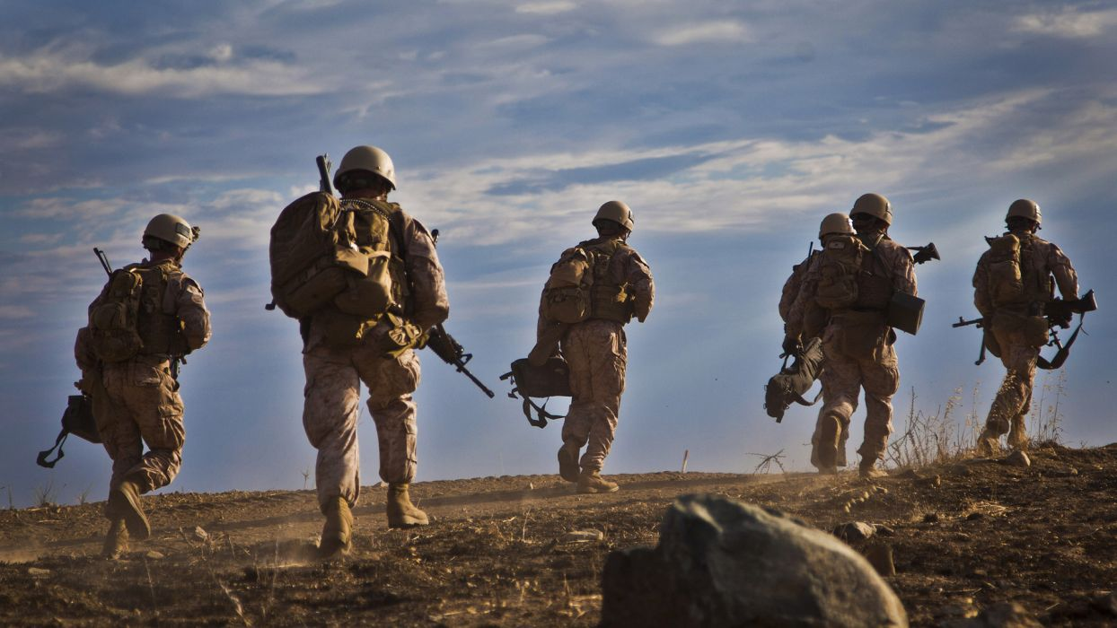 Soldier military wallpaper