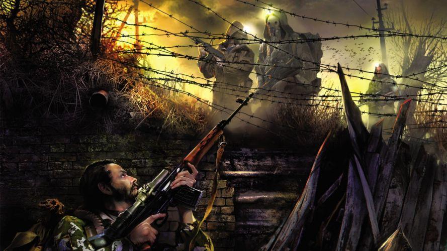 stalker Post Apocalyptic uj wallpaper