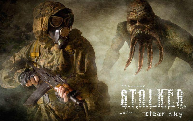 stalker Post Apocalyptic wallpaper