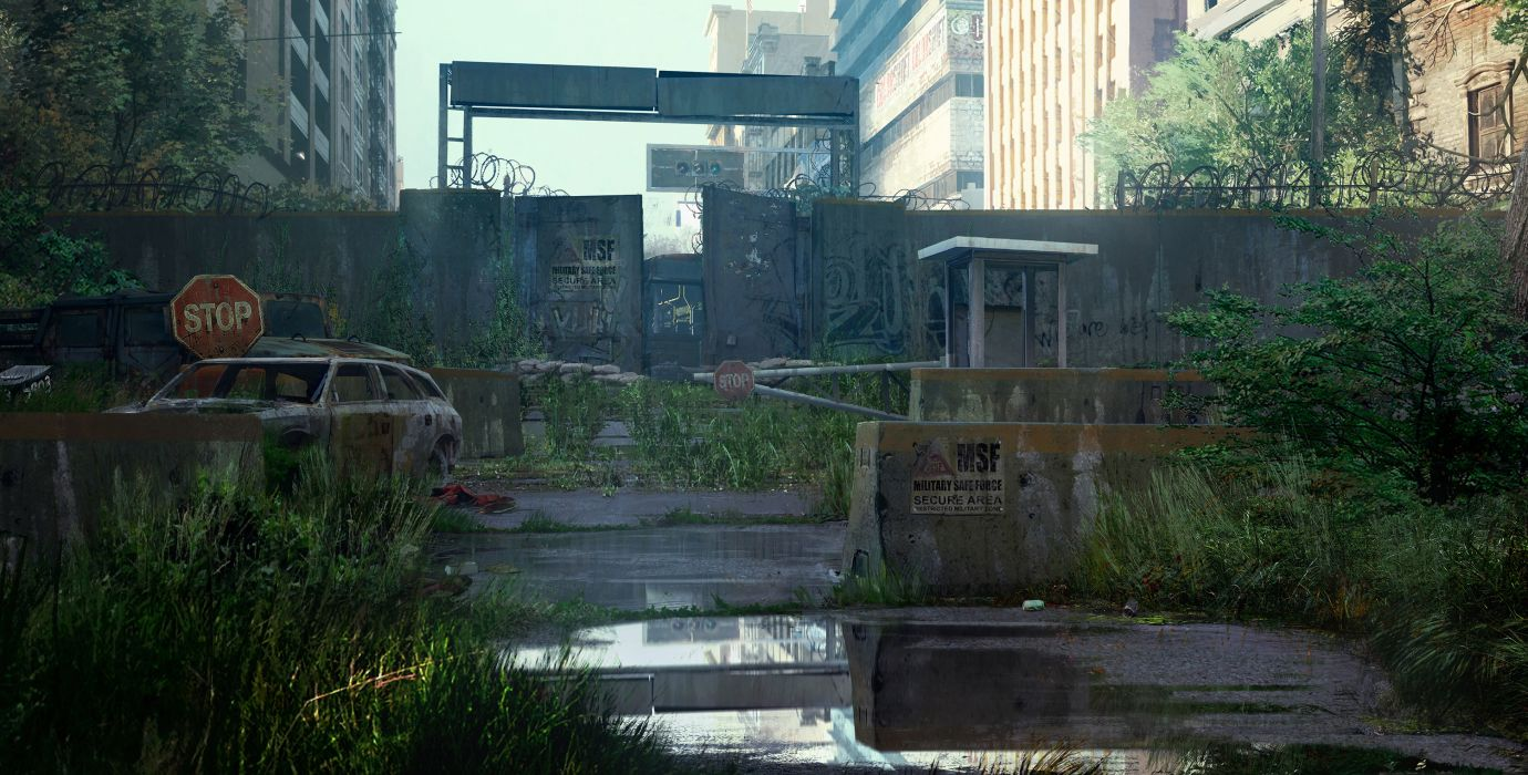 The Last of Us Overgrowth apocalyptic wallpaper