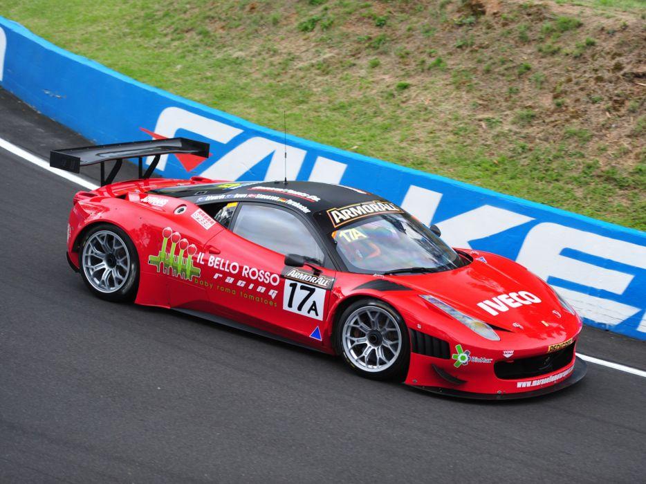 2011 Ferrari 458 Italia GT3 supercar supercars race racing   fs wallpaper