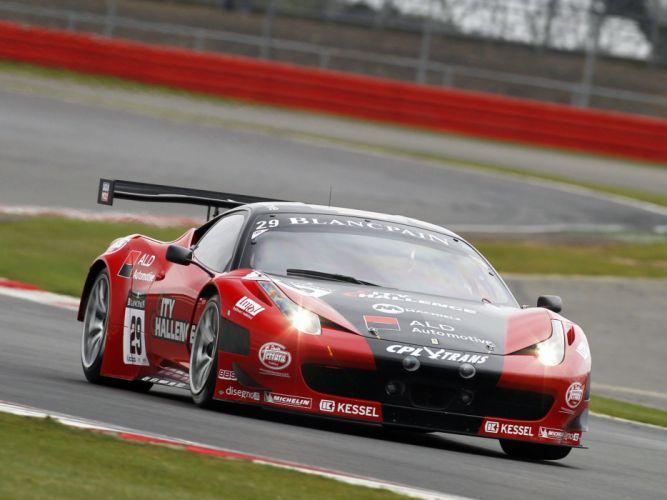 2011 Ferrari 458 Italia GT3 supercar supercars race racing f wallpaper