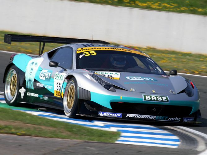 2011 Ferrari 458 Italia GT3 supercar supercars race racing g wallpaper
