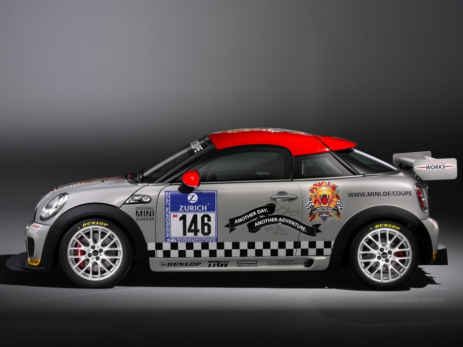 2011 Mini John Cooper Works Coupe Endurance R58 race racing tuning    fw wallpaper
