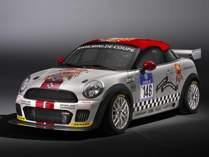 2011 Mini John Cooper Works Coupe Endurance R58 race racing tuning f wallpaper