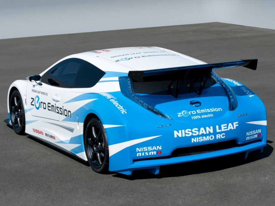 2011 Nissan Leaf Nismo R-C race racing tuning electric    fe wallpaper