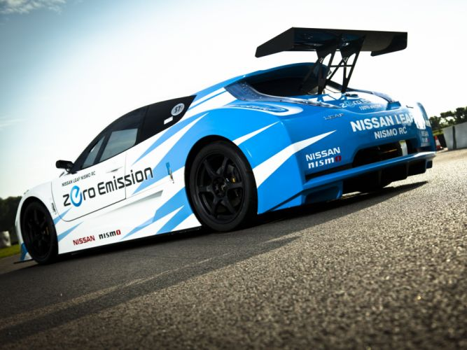 2011 Nissan Leaf Nismo R-C race racing tuning electric supercar supercars f wallpaper