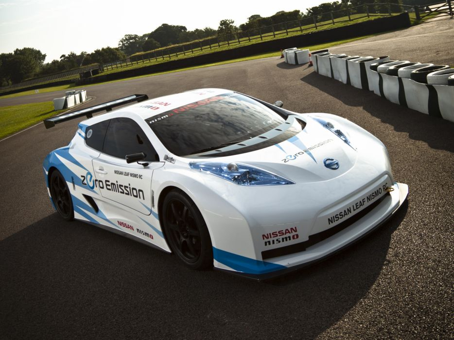 2011 Nissan Leaf Nismo R-C race racing tuning electric supercar supercars   fd wallpaper