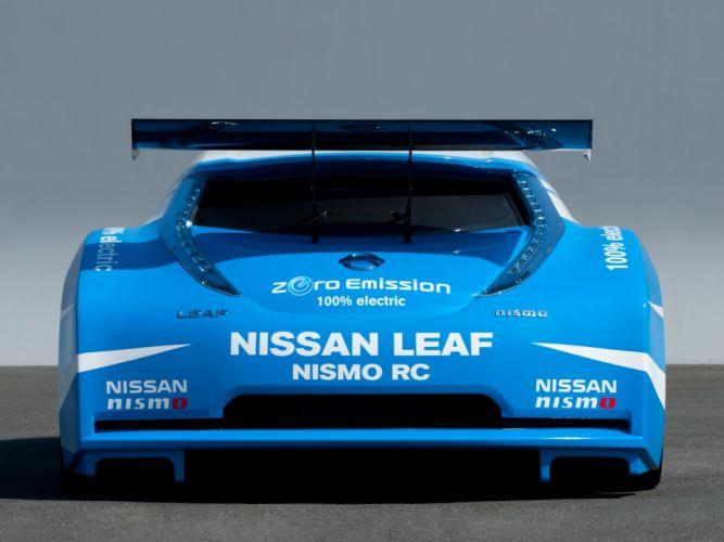 2011 Nissan Leaf Nismo R-C race racing tuning electric wallpaper