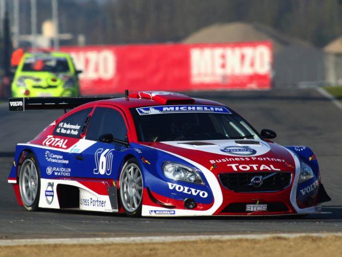 2010 Volvo S60 BTCS race racing h wallpaper