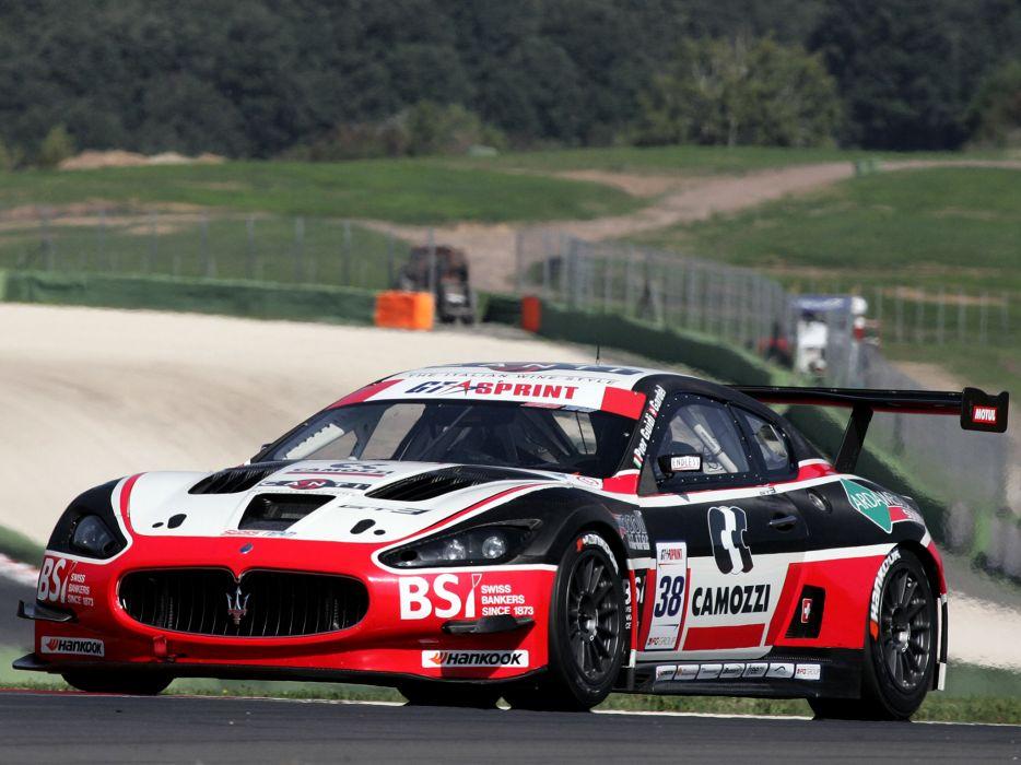 2012 Maserati GranTurismo M-C GT3 supercar supercars race racing     g wallpaper