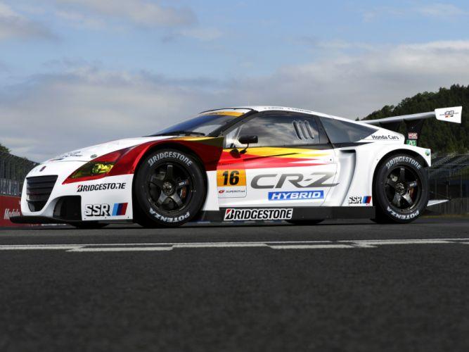 2012 Mugen Honda CR-Z GT300 ZF1 race racing hybid g wallpaper