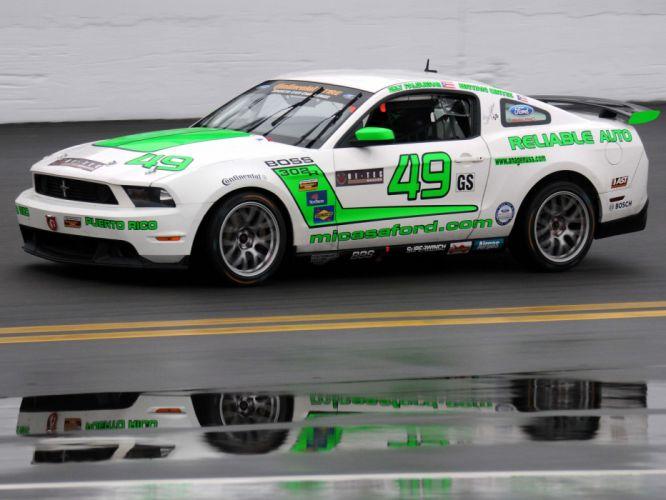 2012 Mustang Boss 302R muscle race racing g wallpaper