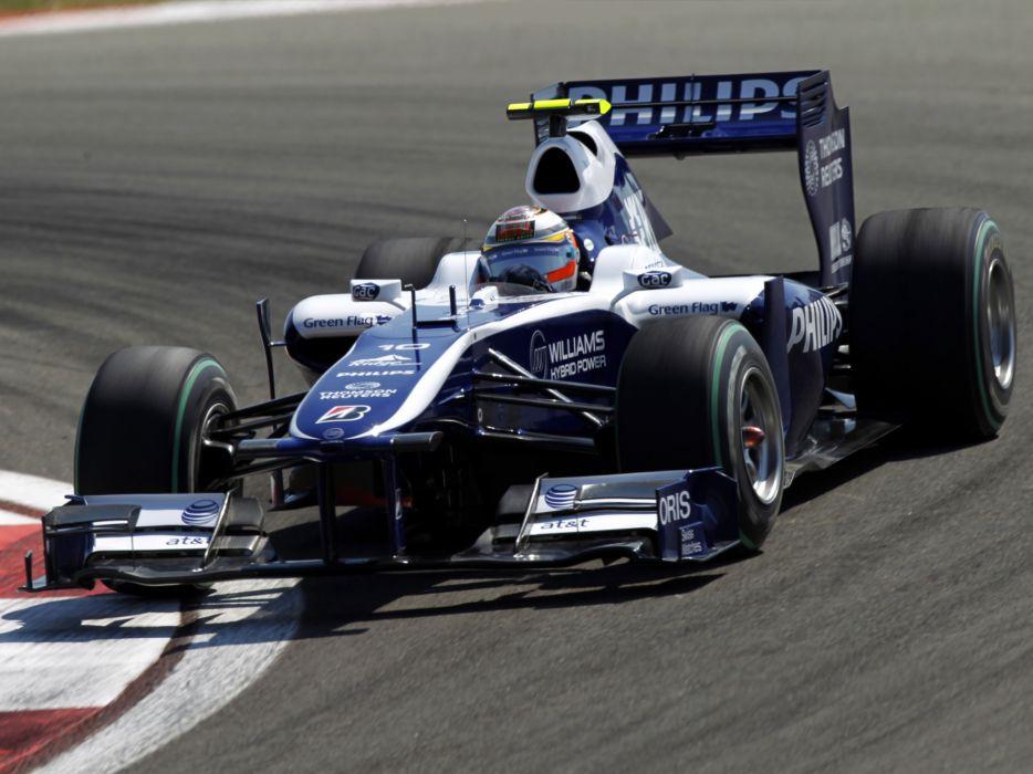 2010 Williams FW32 formula one f-1 race racing      g wallpaper