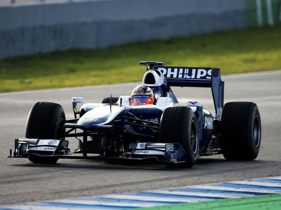 2010 Williams FW32 formula one f-1 race racing   h wallpaper
