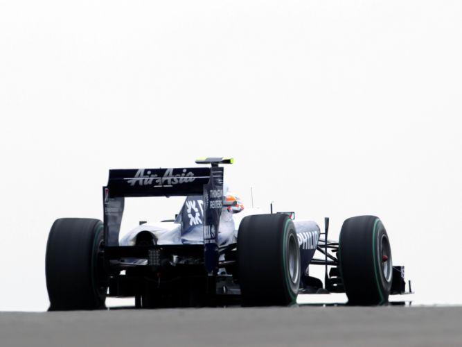 2010 Williams FW32 formula one f-1 race racing wheel wheels g wallpaper