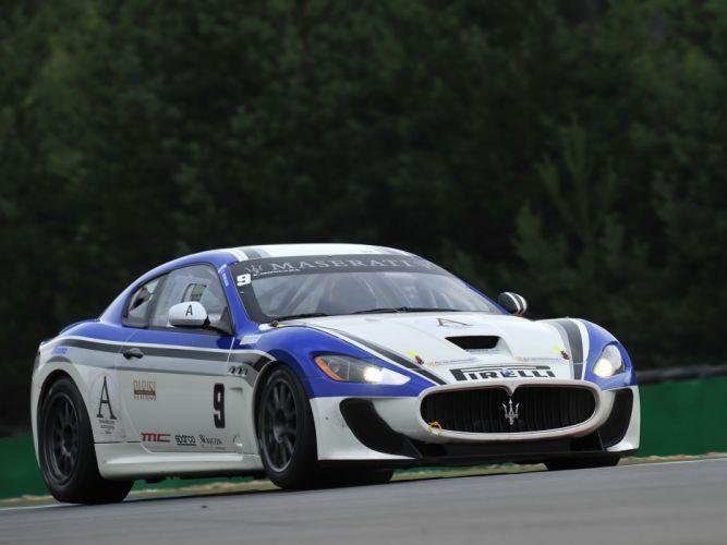 2010 Maserati GranTurismo M-C Trofeo race racing supercar supercars f wallpaper