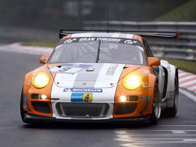 2010 Porsche 911 GT3 R Hybrid 997 race racing supercar supercars f wallpaper