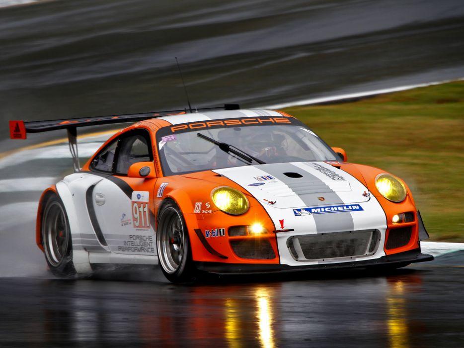 2010 Porsche 911 GT3 R Hybrid 997 race racing supercar supercars wallpaper