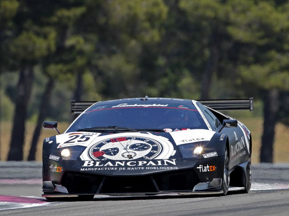 2010 Reiter Lamborghini Murcielago LP670 R-SV supercar supercars race racing     h wallpaper