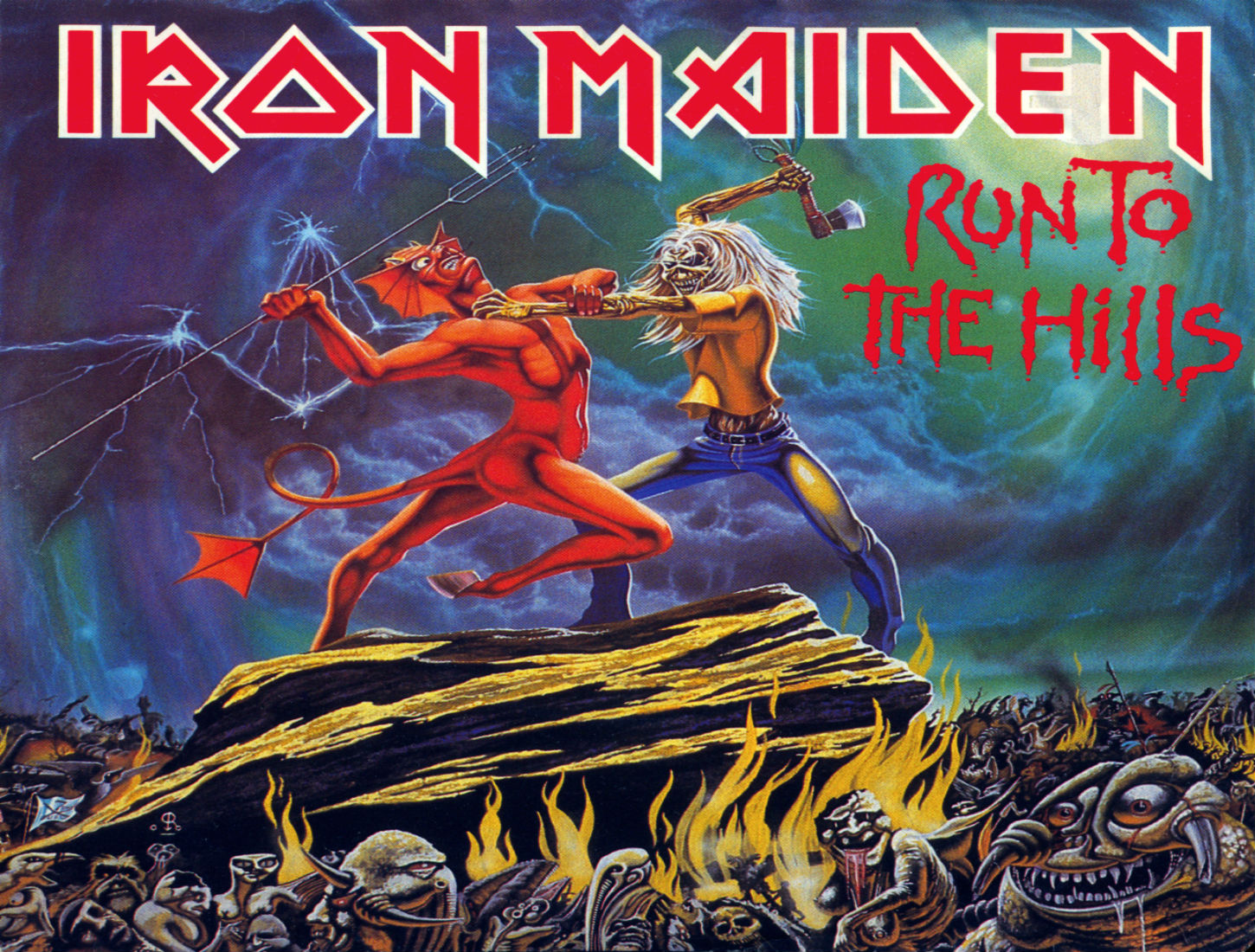 iron maiden wallpapers covers - photo #29