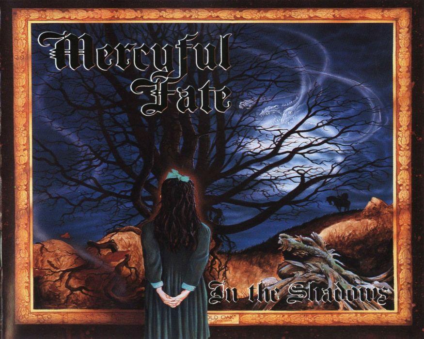 MERCYFUL FATE KING DIAMOND heavy metal dark album cover   r wallpaper