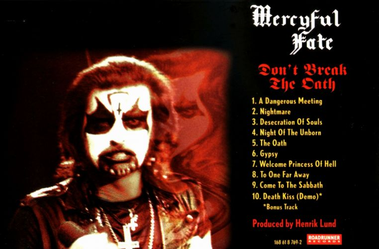 MERCYFUL FATE KING DIAMOND heavy metal dark album cover poster posters wallpaper