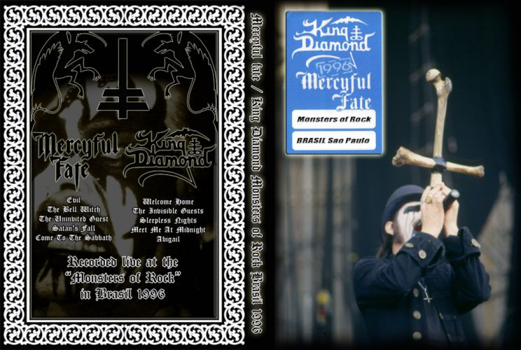 MERCYFUL FATE KING DIAMOND heavy metal dark album cover poster posters g wallpaper