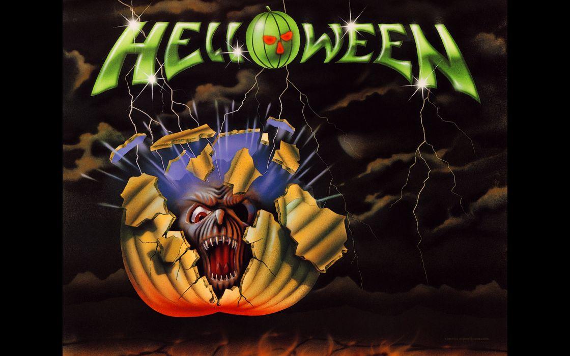 HELLOWEEN heavy metal album cover dark ge wallpaper