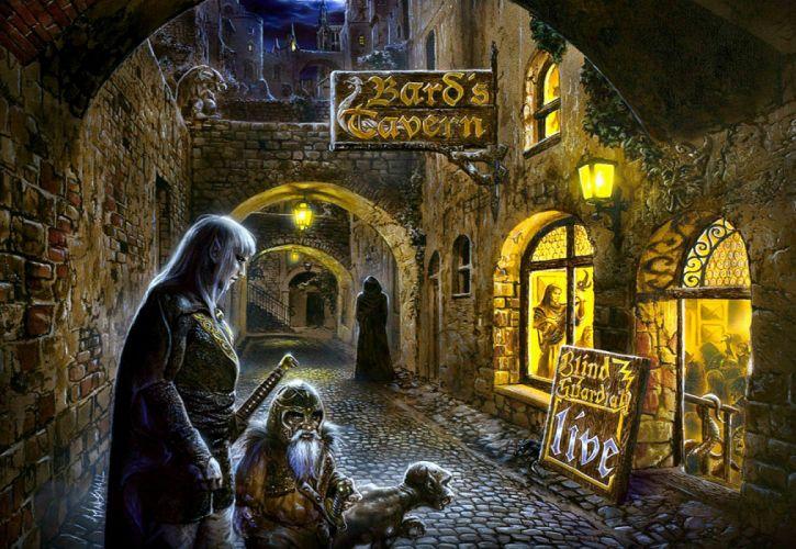 BLIND GUARDIAN heavy metal album cover dark fantasy g wallpaper