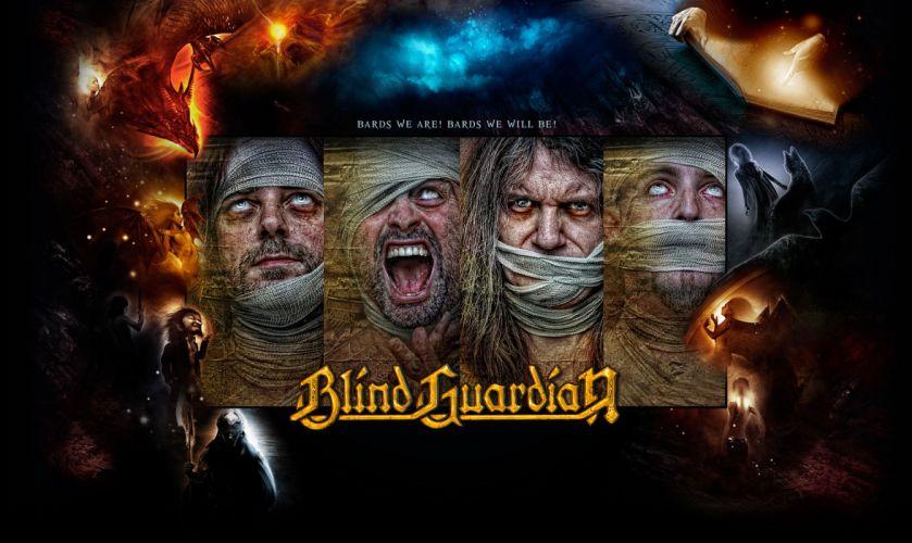 BLIND GUARDIAN heavy metal album cover dark fantasy f wallpaper