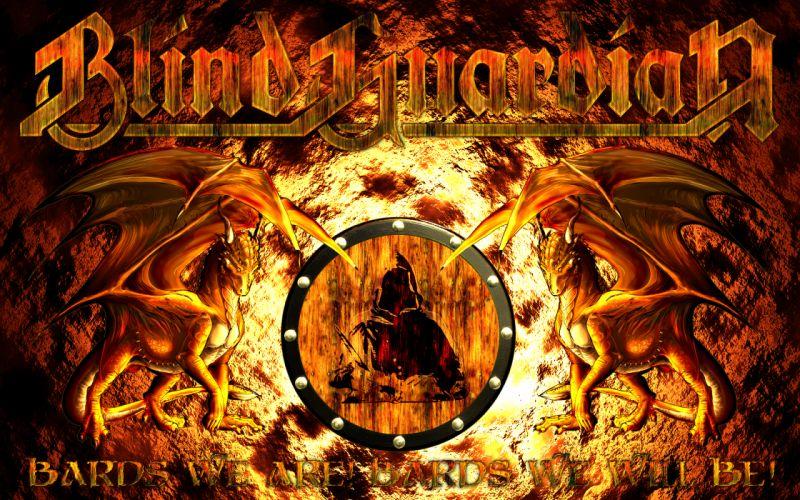 BLIND GUARDIAN heavy metal album cover fantasy dragon dragons hh wallpaper
