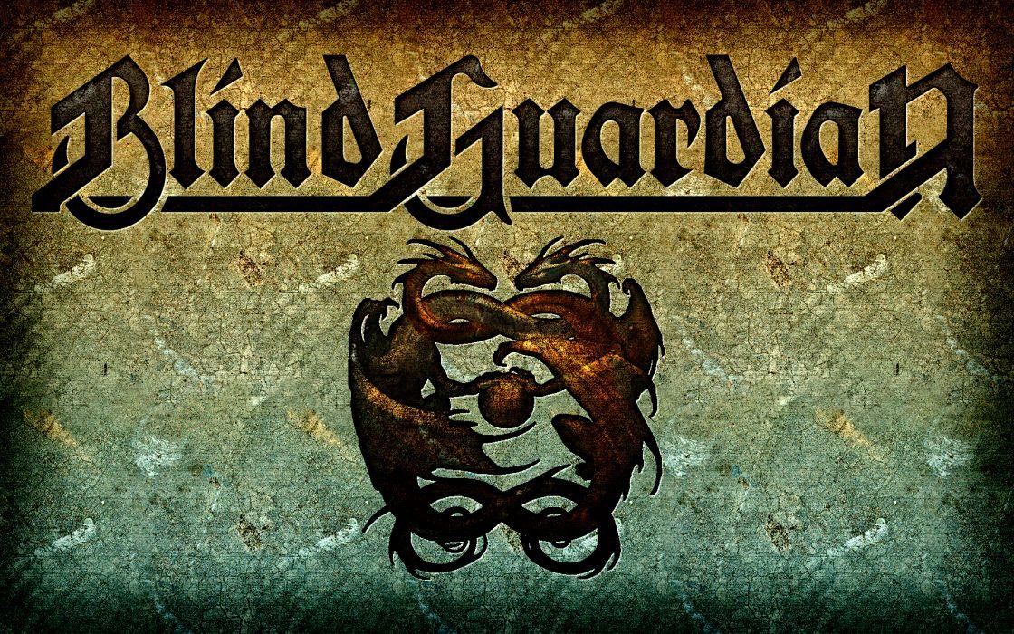 BLIND GUARDIAN heavy metal album cover fantasy dragon dragons wallpaper