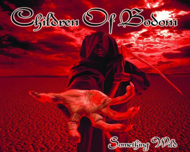 CHILDREN OF BODOM heavy metal album art cover dark g wallpaper