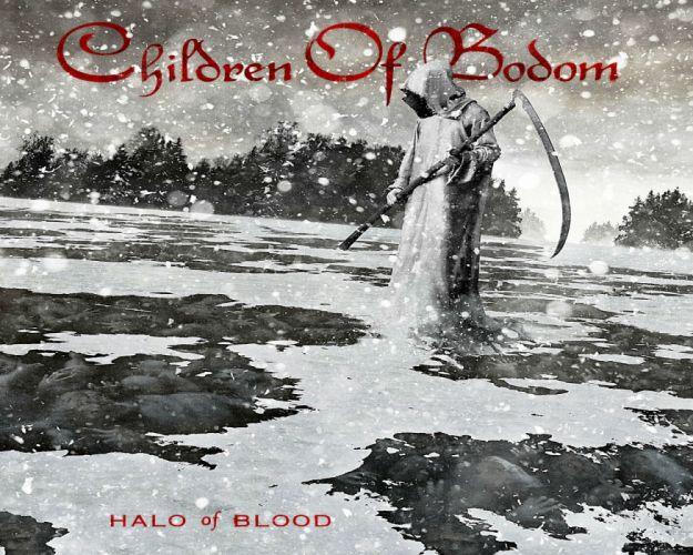 CHILDREN OF BODOM heavy metal album art cover dark s wallpaper
