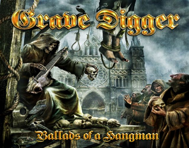 GRAVE DIGGER heavy metal album art cover fantasy dark d wallpaper