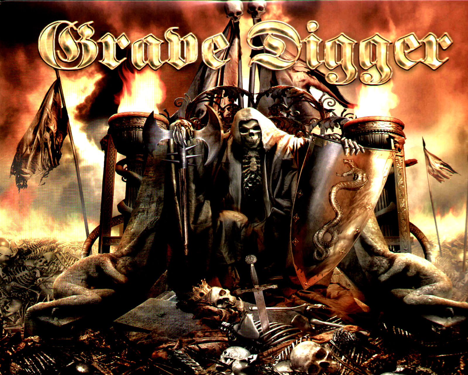 grave digger band wallpaper