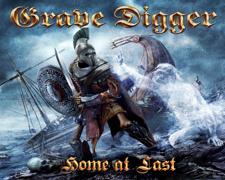 GRAVE DIGGER heavy metal album art cover fantasy h