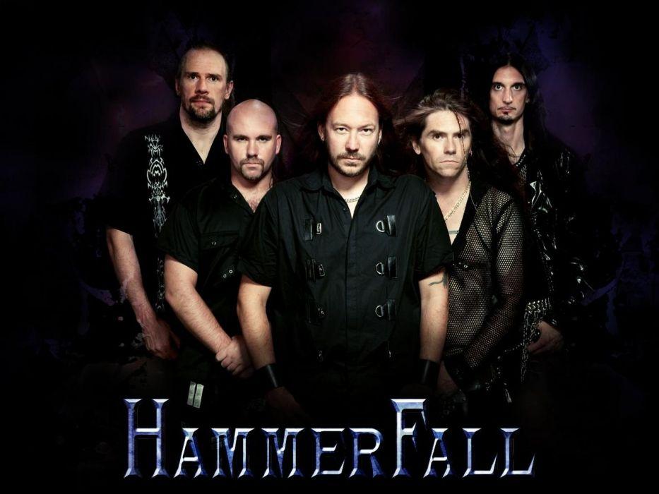 HAMMERFALL heavt metal  d wallpaper