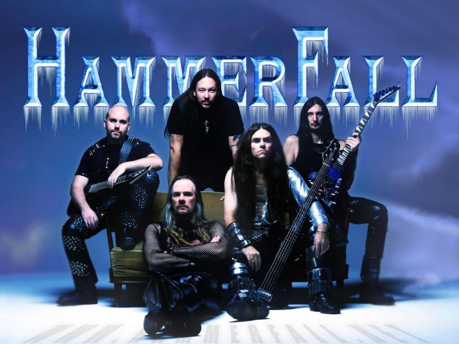HAMMERFALL heavt metal  f wallpaper