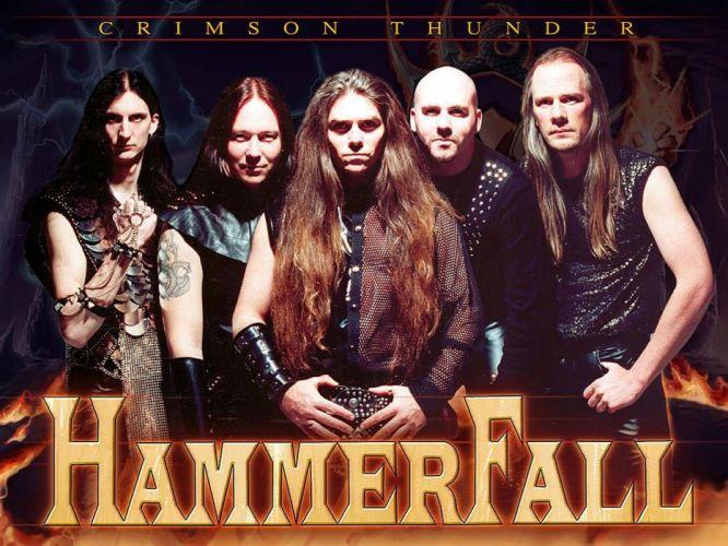 HAMMERFALL heavt metal album cover e wallpaper